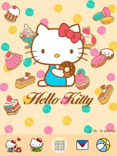 Hello Kitty Dessert Time Theme01