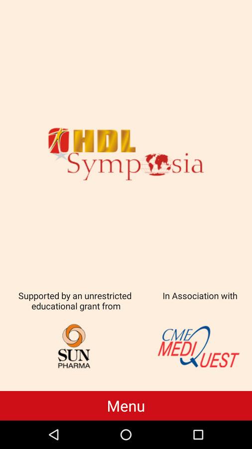 HDL Symposia