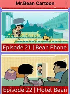 Mr.Bean Cartoon 4