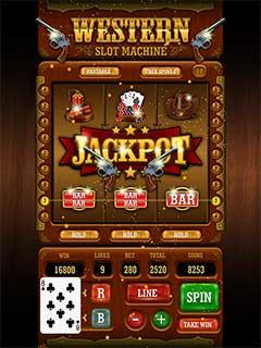Western Slot Machine 1