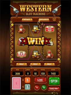Western Slot Machine 3