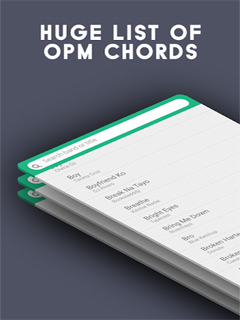 Guitar Gang Lite - OPM Chords 3