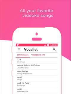 Vocalist - OPM Karaoke Offline - Tagalog 3