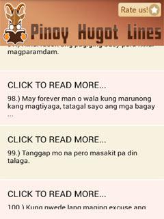 Pinoy Hugot Lines 1