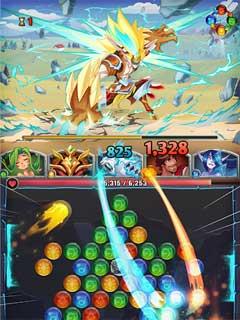 LightSlinger Heroes Puzzle RPG 1