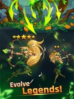 LightSlinger Heroes Puzzle RPG 2