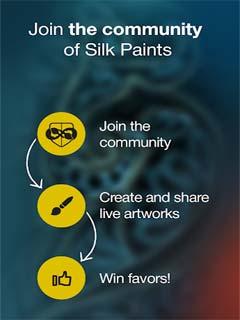 Silk Paints - Drawing, Doodle 3