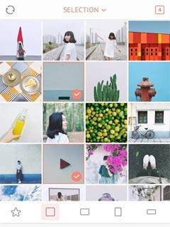 April - Camera360 cute Layout 1