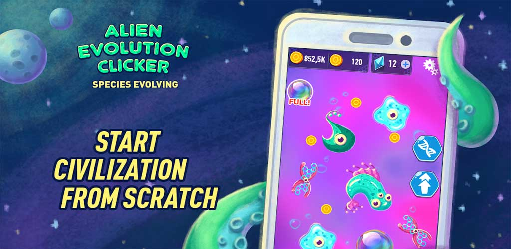 Alien Evolution Clicker 1