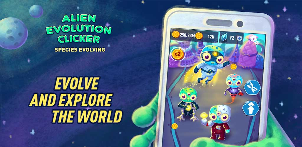 Alien Evolution Clicker 2