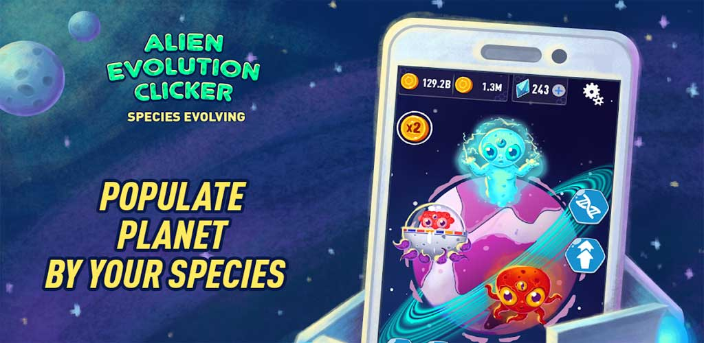 Alien Evolution Clicker 3