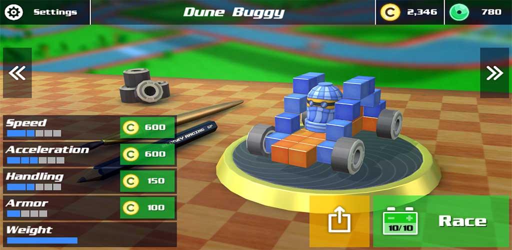 Blocky Racing 2