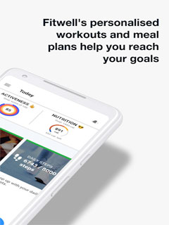 Fitwell - Personal Fitness Coach 2