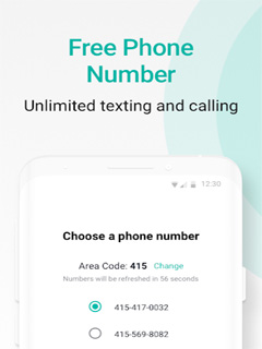 2ndLine - Second Phone Number 1