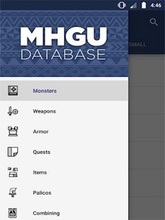 MHGU Database 1
