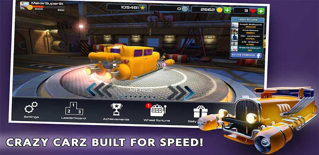 Rocket Carz Racing - Never Stop 1