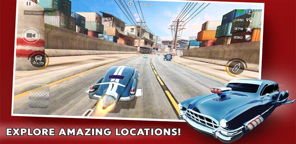 Rocket Carz Racing - Never Stop 3