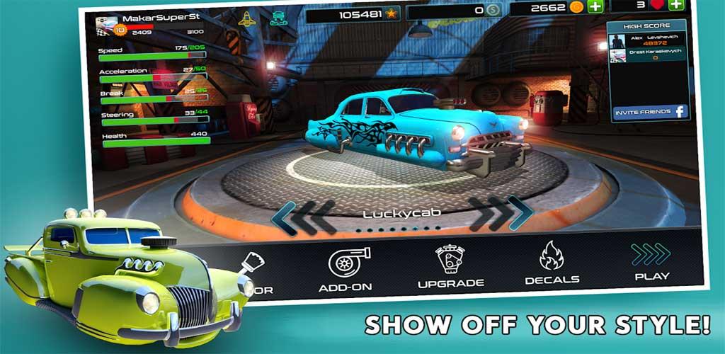 Rocket Carz Racing - Never Stop 5