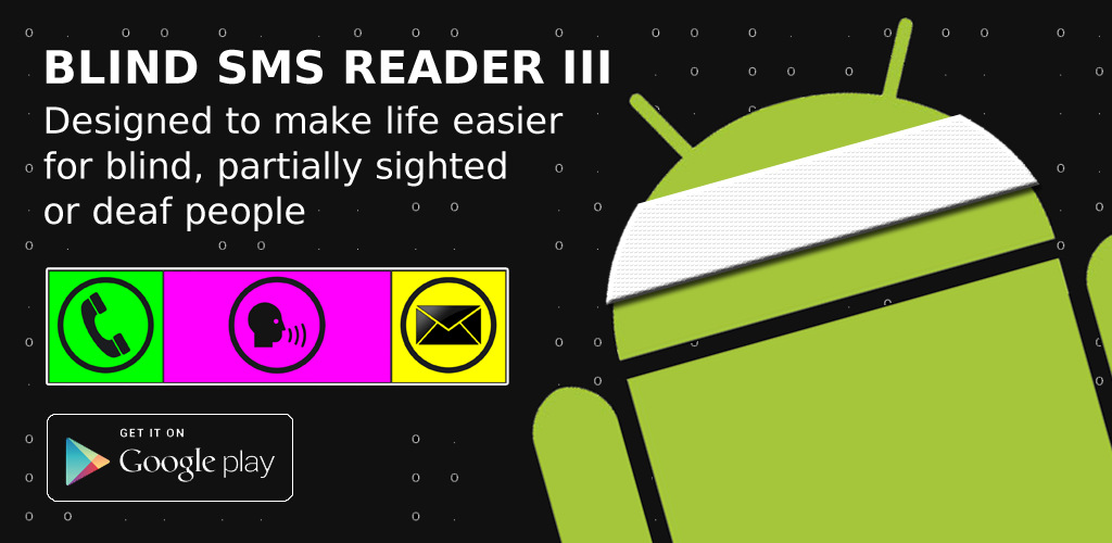 Blind SMS Reader 3.2