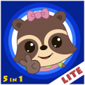 Candy Raccoon: Balloon Games for Kids Lite