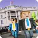 Mr. Blocky White House Driver