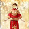 Chinese Wedding Dress Costume