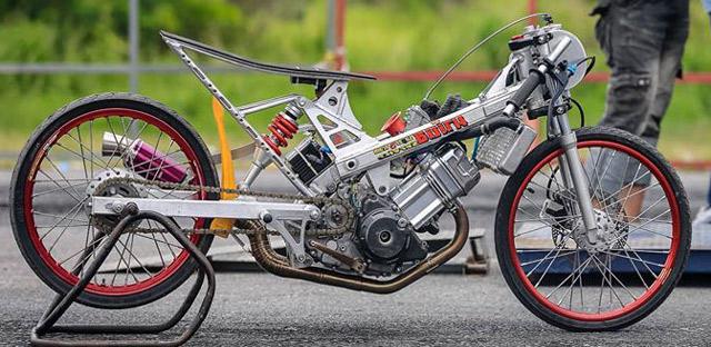 Gambar Modifikasi Drag Honda Supra Terbaru Pecinta Modifikasi