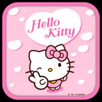 Hello Kitty Pink Heart Theme