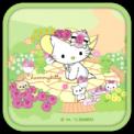 Charmmy Kitty Garden Theme
