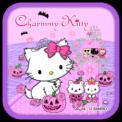 Charmmy Kitty Pink Halloween Theme