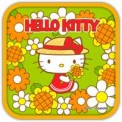Hello Kitty Holiday Flowers Theme