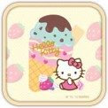Hello Kitty Lovely Ice Cream Theme