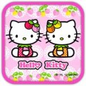 Hello Kitty Love Strawberry Theme