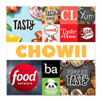 Chowii Search Video Recipes icon