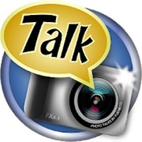 Photo talks speech bubbles