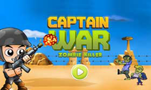 Captain War: Zombie Killer
