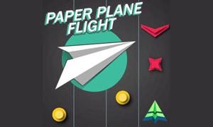 Paper Plane Flight