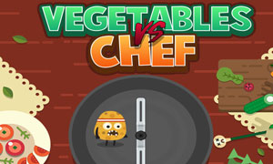 Vegetables vs. Chef