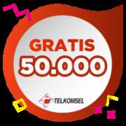 Pulsa Telkomsel IDR 50,000