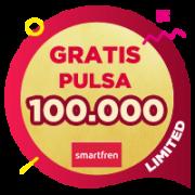 Pulsa Smartfren 100,000