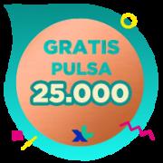 Pulsa XL IDR 25,000