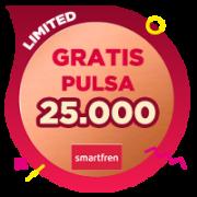Pulsa Smartfren 25,000