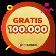 Pulsa Telkomsel IDR 100,000