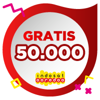 Pulsa Indosat IDR 50,000