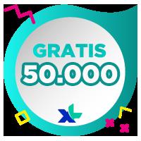 Pulsa XL IDR 50,000