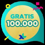 Pulsa XL IDR 100,000