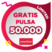 Pulsa Smartfren 50,000