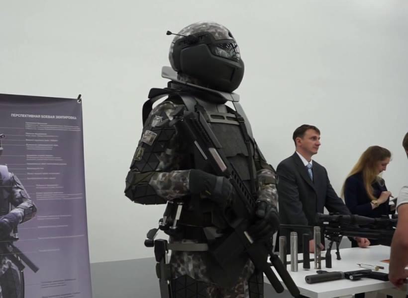 Baju Tempur Canggih Milik Militer Rusia
