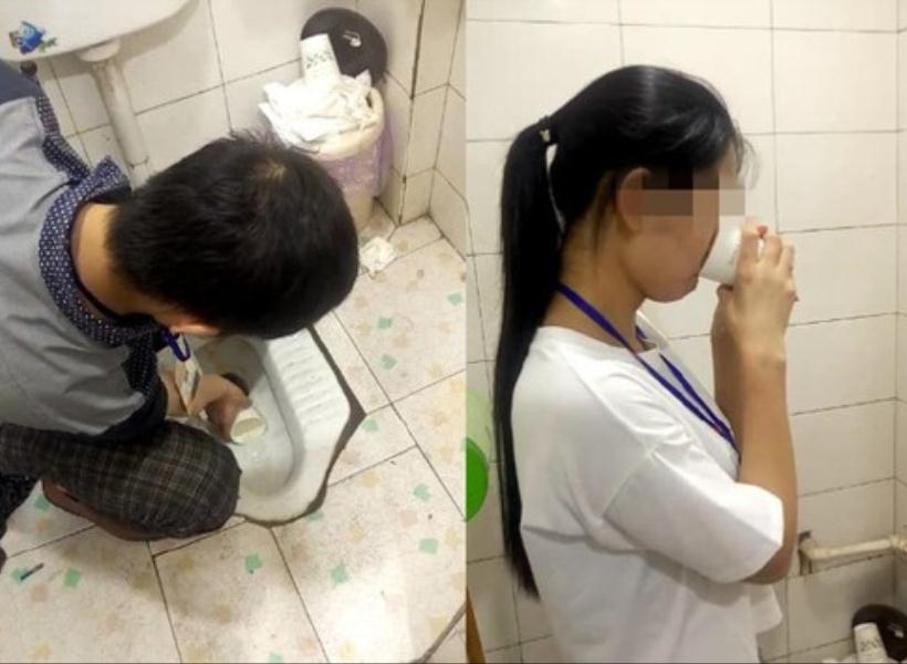 Tak Capai Target, Karyawan Dihukum Minum Air Toilet
