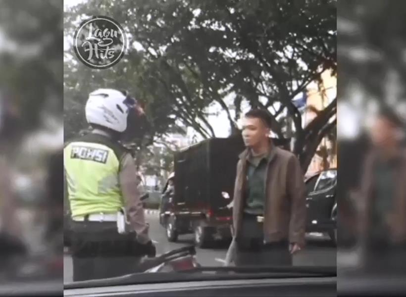 TNI Minta Maaf Atas Aksi Anggotanya Pukul Polantas
